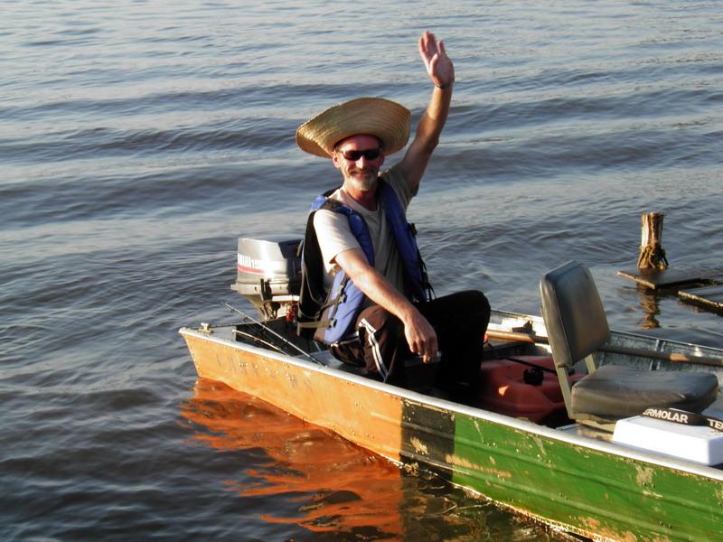 Der fröhliche Fischer