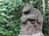 im Statuenwald von San Agustin