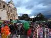Jahrmarkt vor der Kirche