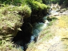 Der Fluss geht unten durch