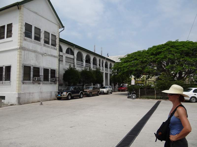 Courthouse Belize City