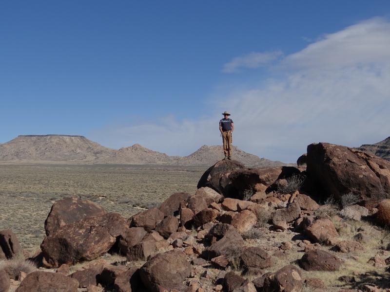 Wanderung in der Mojave