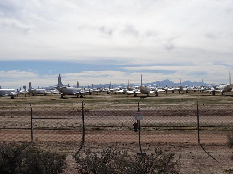 Flugzeugfriedhof