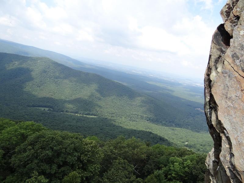 Blick ins Shenandoah Valley