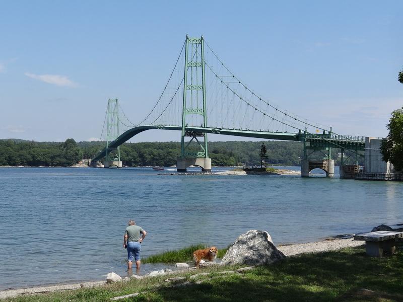 Brücke zur Deer Isle