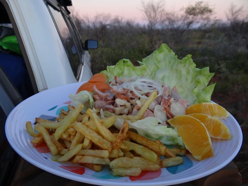 Baditeller im Outback
