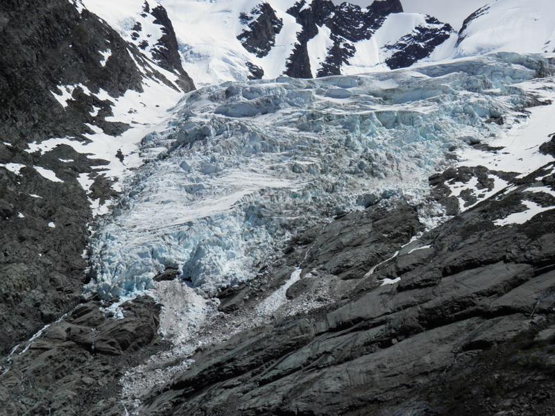 Gletscher Huemul