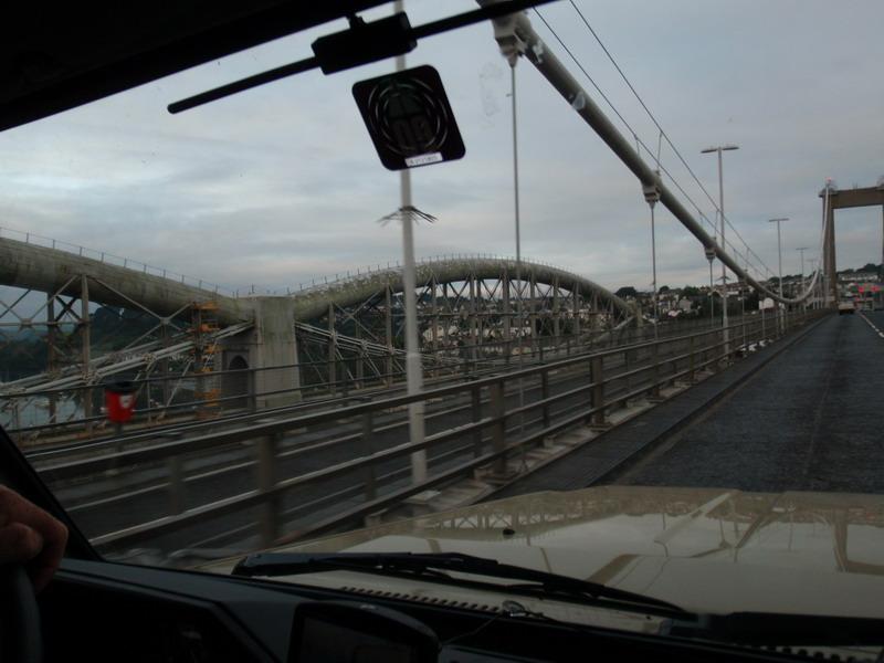 Einfahrt Plymouth