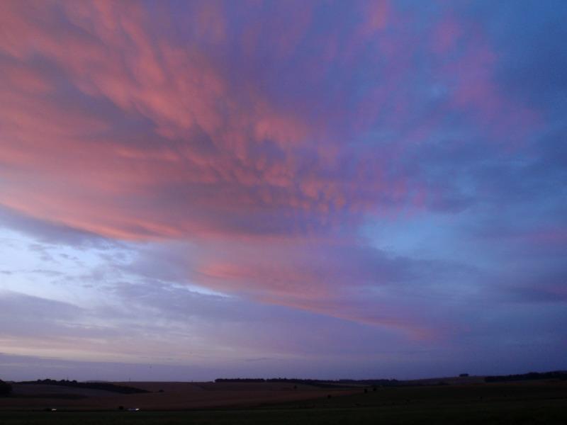 frühmorgens in Stonehenge
