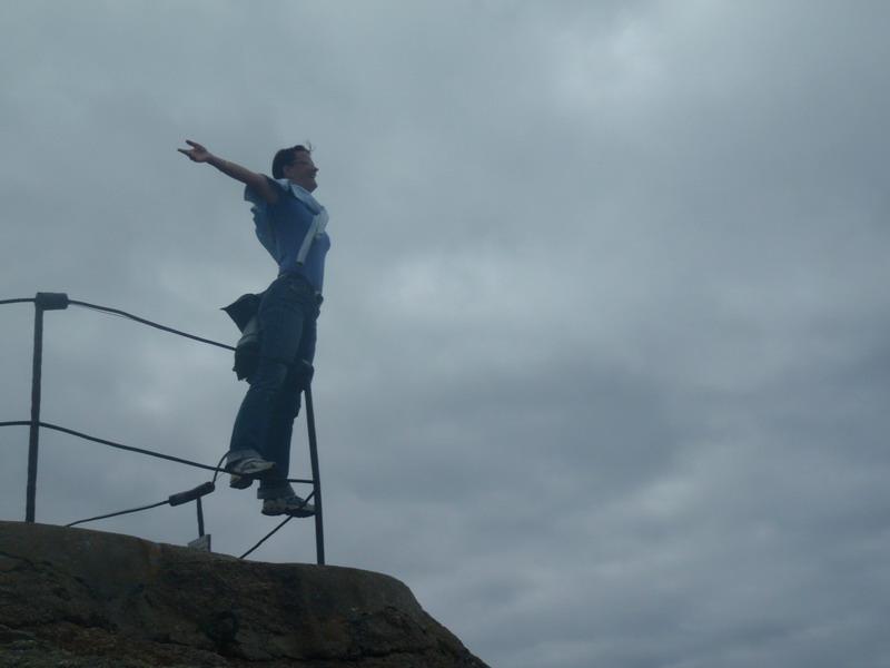 titanic on the rocks