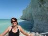 Steilküste in Criel