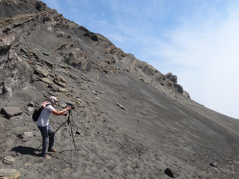 Maki am Krater