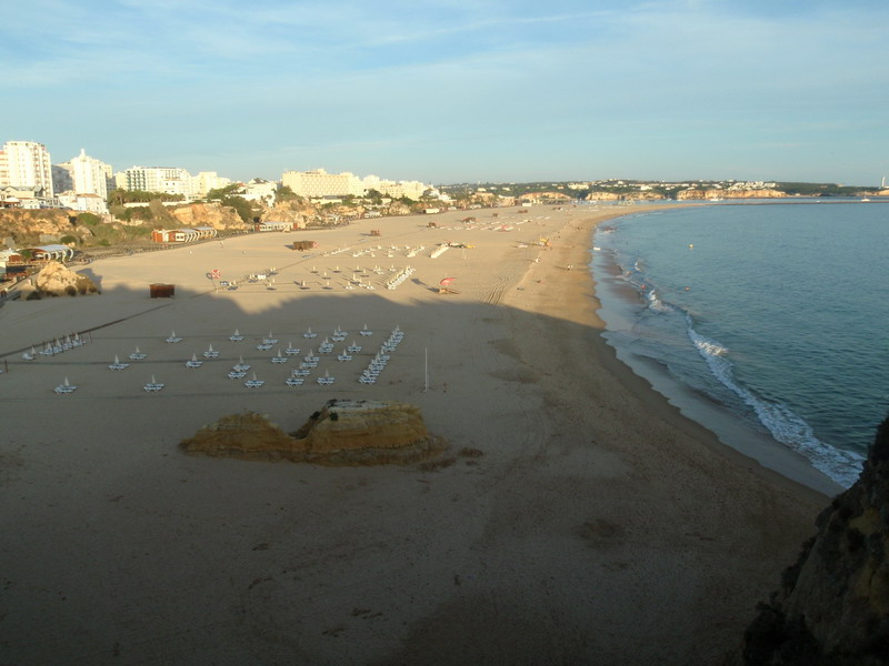 Sandstrand in Portimao