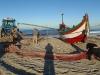 fischen an der Westküste Portugals