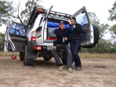 Frieren im Outback